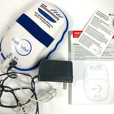 Light Relief Infrared Pain Therapy System LR150 Device Joint Muscle Pain Tested