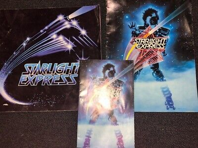 Starlight Express Australia Vintage 1984 & 1988 Tour Musical Programs Car Ads