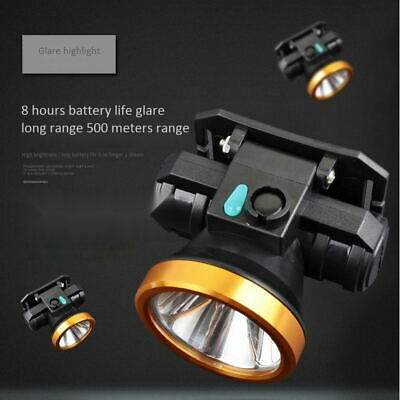 LED Headlamp Flashlight Rechargeable Headlight Head Lamp Torch lights Camping RM