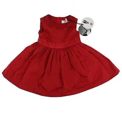 5305f3eb8138f Jason Wu Dress Size 24M Baby Toddler Girl Occasion Lace Trim Red Neiman  Marcus