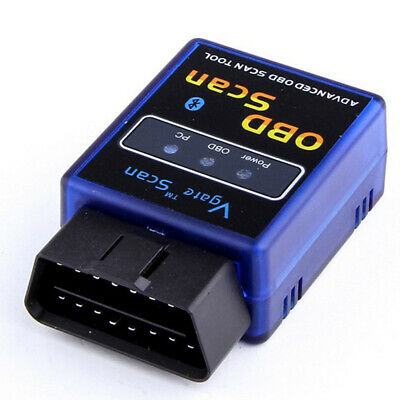 Vgate ELM327 OBD2 Bluetooth V1.5 Scanner Auto Diagnostic Scan Adapter Tool Blue