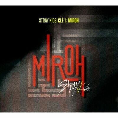Stray Kids-[Cle 1:Miroh] Normal Album CD+PhotoBook+Card+KPOP POSTER+Tracking No
