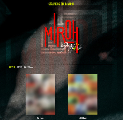(PreOrder) Stray Kids - [ Clé 1 : MIROH ] 4th Mini Album [Regular Ver] *FreeCust