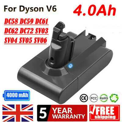21.6V Li-ion Battery For Dyson V6 DC58 DC59 DC62 SV03 BC683 DC72 Vacuum Cleaner