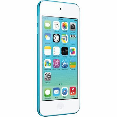Refurbished A1421 Apple iPod Touch 5th Generation Blue 16GB 90 Days Warranty USA