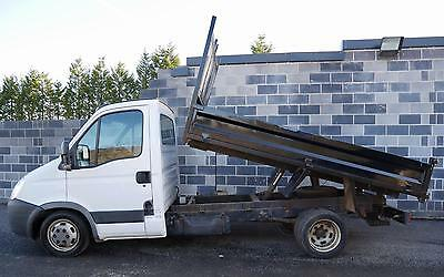 2008 58 Iveco Daily 35S12 Steel Bodied Tipper only 1 former keeper