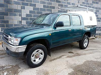 2001 Toyota HI-LUX 4X4 EX 2.4 TD Double Cab with Canopy & Ex Enviroment Agency