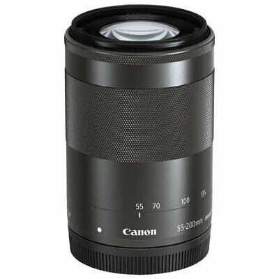 Brand New Canon EF-M 55-200mm f/4.5-6.3 IS STM Lens Black Bulk Box IT*1