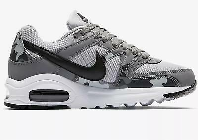 NIKE AIR MAX Command Flex BG Wolf GreyBlack Cool Grey AT6171 001 Size 3.5 UK