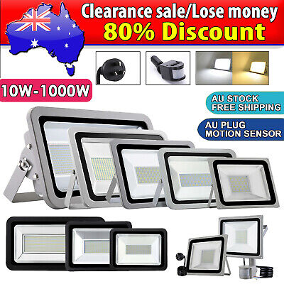LED Flood Light 10W 50W 100W 150W 200W 300W 500W 800W 1000W Outdoor Floodlights