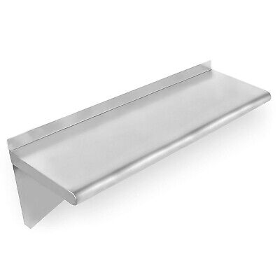 """CMI Commercial Stainless Steel Wall Mount Shelf-12""""x84"""""""