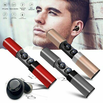 S2 TWS Wireless Bluetooth Headset Earbuds In-Ear Stereo Earphone For iOS Android