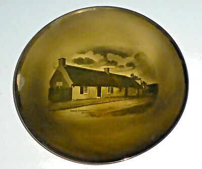 Ridgways Plate Illustrating Burns Cottage