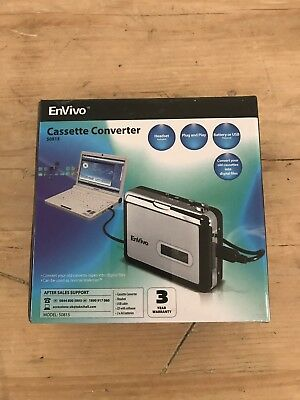 Envivo Cassette Converter to USB Digitaliser Sealed In Box
