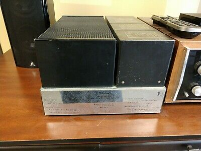 McIntosh MC 2100 Stereo Power Amplifier - Vintage - 100 watts - Solid State