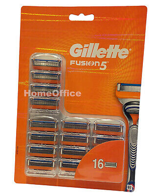 Gillette Fusion 5 Razor Shaving Blade Cartridges  - 16 Pack (Fusion 5)