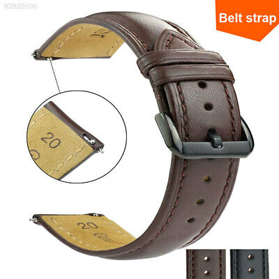 ADFE Unisex Watch Band 16/18/20/22mm Leather Soft Wrist Straps Quick Release