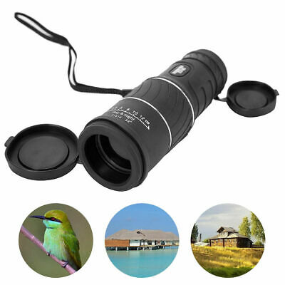 Day & Night Vision HD Optical Monocular Hunting Camping Hiking Telescope  30x52
