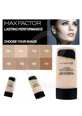 Max Factor Lasting Performance Foundation, 35ml *Various Shades*