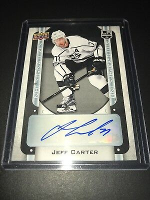 2018-19 Upper Deck Tim Hortons NHL Signatures JEFF CARTER