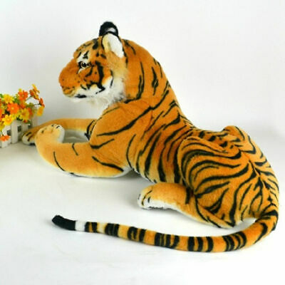 Huge Giant Extra Large Brown Tiger Soft Toy Plush 120cm  Realistic Features (UK)