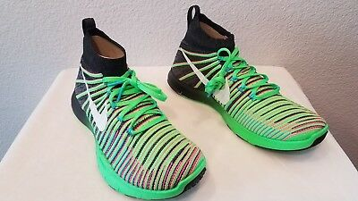 5dd5f09fce1a New Nike Free TR Force Flyknit Athletic Training Shoes (833275-013) Mens  Size