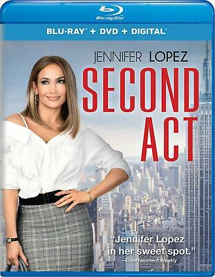 Second Act (Blu-Ray,DVD) No Digital Copy Pre-Order Ships Approx. 3/28