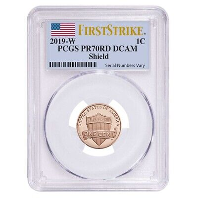 2019 W Proof Lincoln Penny Cent Comm. PCGS PF 70 FS