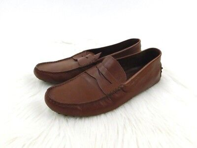 956c2ecd5de Tod s Men s 7.5 (US 8.5) Brown Leather City Gommino Driving Mocs Loafers -   525