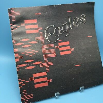 Eagles Original The 1976 Hotel California US World Tour Concert Program Book