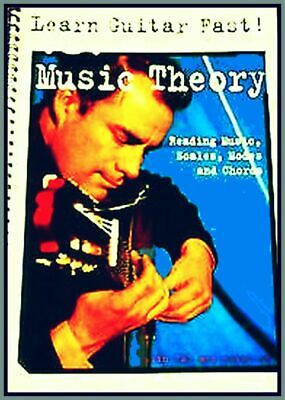 MUSIC THEORY HARMONY & MELODY READING Workbook Tab Notes Scales Modes Chords