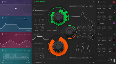 New Softube Parallels Soft-Synth Plug-In Software Mac/PC