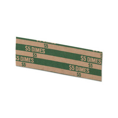 50 - Dimes Flat Coin Wrappers -  Pop Open - 10 cents Holder - Tubular - MMF