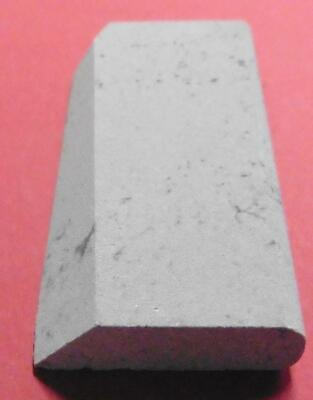 "Soft Arkansas Slip File, Sharpening Stone 4 1/8""x 2 "" x 1/2"", Woodworker Tool"