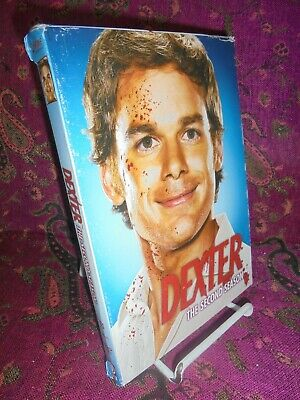 4 DVDs-2008-DEXTER-THE COMPLETE SECOND SEASON-TV SERIES
