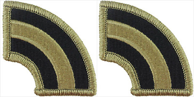 2 Pack U.S. Army 42nd Infantry Division OCP Hook Military Patches