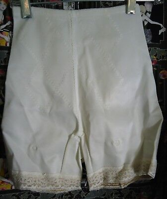 "NOS Vtg 60s Bestform Panty Girdle L Waist 20"" Garter Tabs Display As is"