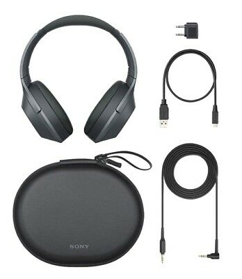 Sony WH-1000XM2/B All Accessories Included Noise Cancelling WH1000XM2 (Black)