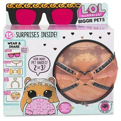LOL Surprise Doll PETS MC HAMMY MCHAMMY Animals BABY DOLLS BIggie Pets Bank MBJD
