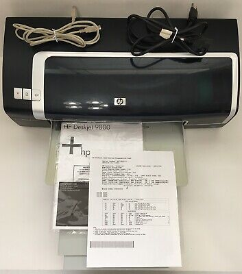HP Deskjet 9800 (C8156A) Color Inkjet Printer USB Parallel 30 Black/20 Color GWC