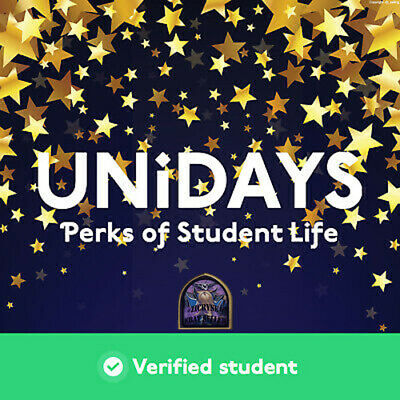 Unidays - Verifed Acc [US] Free Staff & Discounts - Savings more on 150+ Brands