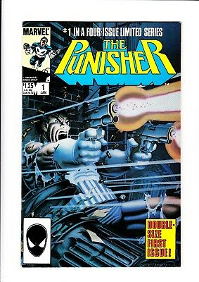 The Punisher (1986) - (5 Issue Limited -  Higher Grade Set / Avg. Vf/nm (9.0)