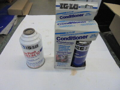 One 12 oz. Can IG-LO Dupont Freon R-12 & One 4 oz. IG-LO Can Conditioner.