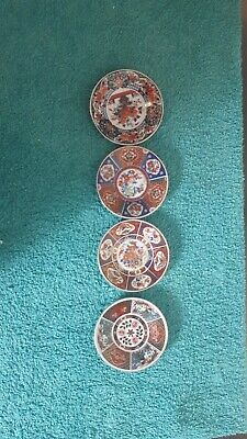 Fine bone china dinner plates set of 4