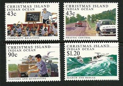 1991 Christmas Island - Policing on Christmas Island (4) MUH