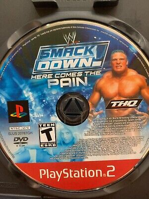 playstation 2 wwe game