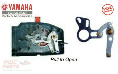 YAMAHA OEM 701 Remote Throttle PULL to Open Conversion Kit 701-48261-00-00