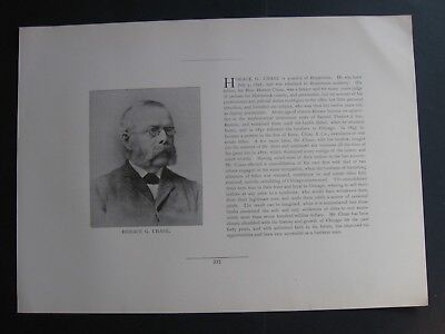 Horace G Chase .Rees Chase & Co .Samuel Thaxter & Son