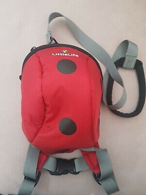 Littlelife Toddler Backpack With Reins Ladybird