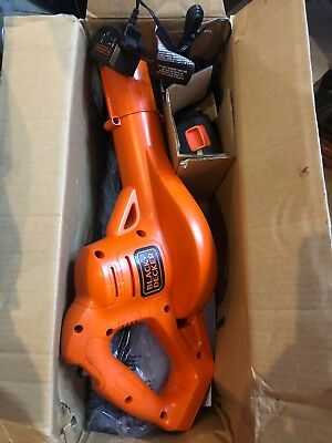 Black And Decker LSW221 Cordless Leaf Blower Lawn Yard Sweeper Battery Powered